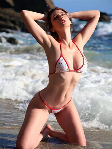 Hearts Polka Dot Micro Bikini