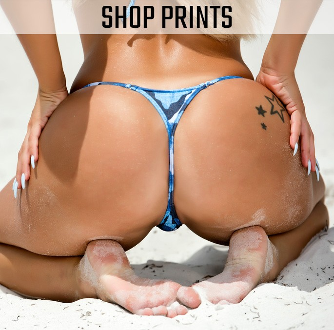 Shop all our Sexy Print Fabric Brazilian Cut Micro Bikinis!